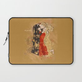 The Invention of the Kiss Laptop Sleeve