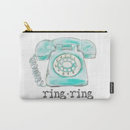 Vintage phone ring ring Carry-All Pouch