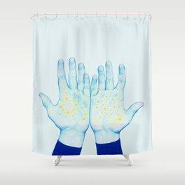 Stars III Shower Curtain