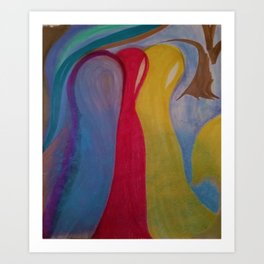 The 3 Within Art Print