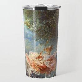 Jean-Honoré Fragonard - The Swing Travel Mug