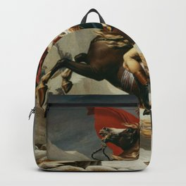 Napoleon Crossing The Alps Backpack