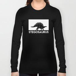 Stegosaurus Dinosaur Long Sleeve T-shirt