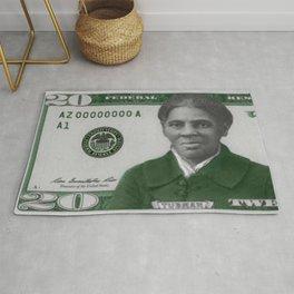 Proposed African American Icon Harriet Tubman Single U.S. Mint 20 Dollar bill Rug