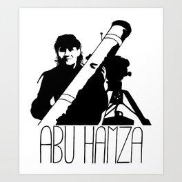 Abu Hamza Art Print