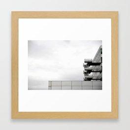 Gasometer city Framed Art Print