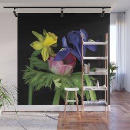 Flower - Iris Mini Wall Mural