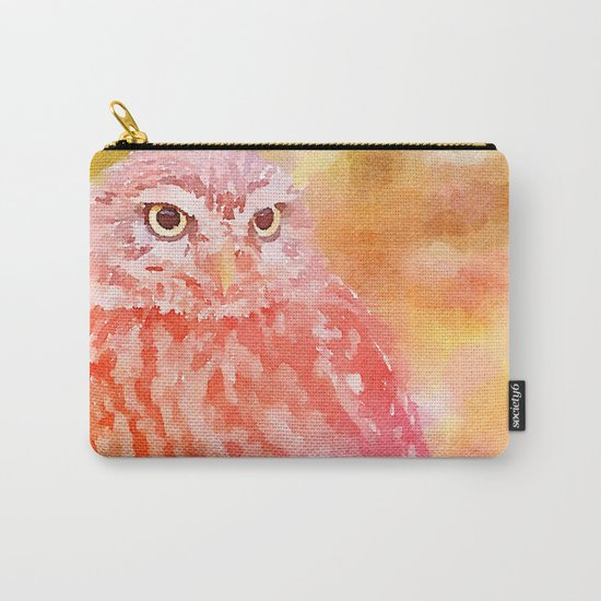 Soft Owl Carry-All Pouch