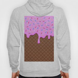 Chocolate and Strawberry Icecream Hoody