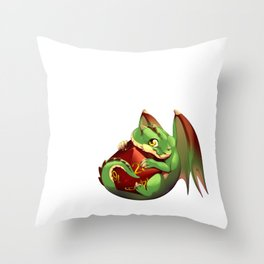 Protection Throw Pillow