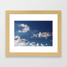 Cottonballs Framed Art Print