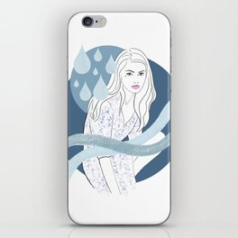 Water Baby iPhone Skin