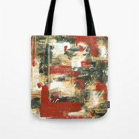moulin rouge Tote Bags featuring Rouge by MelissaBeaulieu