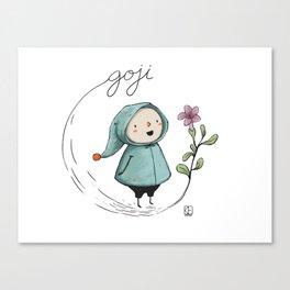 Goji Canvas Print