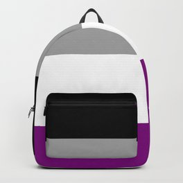 Asexual Pride Flag Backpack