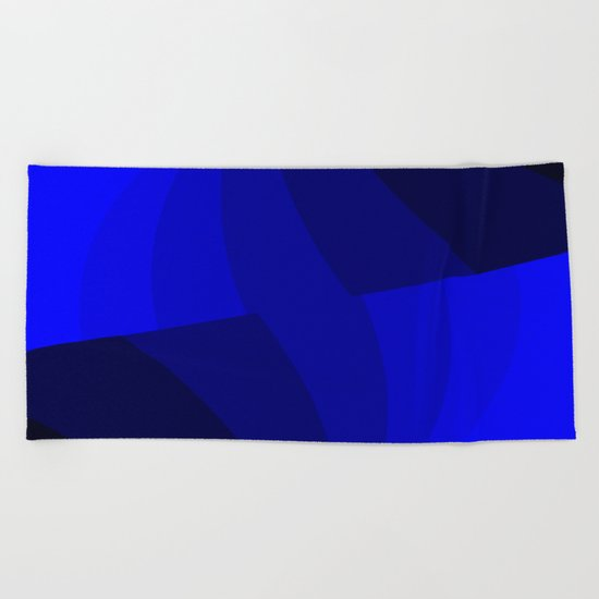 Just Blue Beach Towel