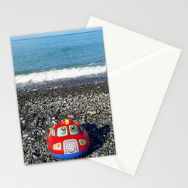 Postcard from the sea Stationery Cards