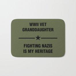 WWII Granddaughter Heritage Bath Mat