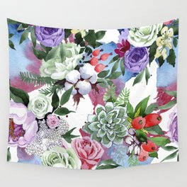 FLOWERS DAY Wall Tapestry