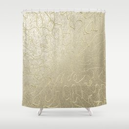 Gold Centered 22 lh Shower Curtain