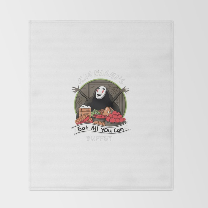 All You Can Eat Buffet Throw Blanket