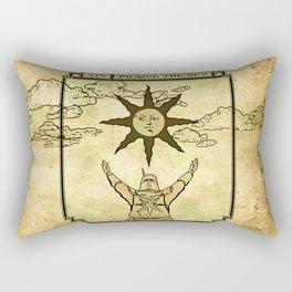 Praise The Sun - Tarot Solaire Rectangular Pillow