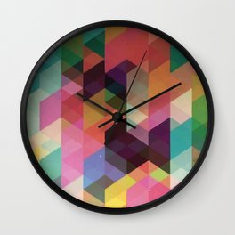 Rainbow Killer Wall Clock