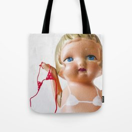 Itsy Bitsy Teenie Weenie Polka Dot Gidget Bikini Tote Bag