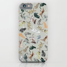 Marble Cats Slim Case iPhone 6s