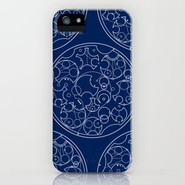 Gallifreyan Sherlock iPhone Case