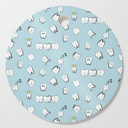 Teeth pattern Cutting Board
