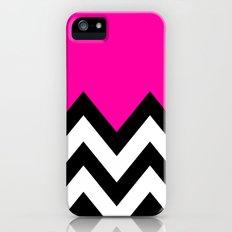 PINK COLORBLOCK CHEVRON Slim Case iPhone (5, 5s)