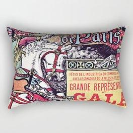 Medieval Gala Opera Paris 1886 Rectangular Pillow