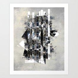 Vertical lines Art Print