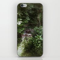 woodland iPhone & iPod Skins featuring Woodland by Geni