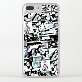 All Is Full Of Love Clear iPhone Case