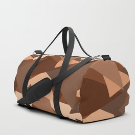 Chocolate Caramels Triangles Duffle Bag