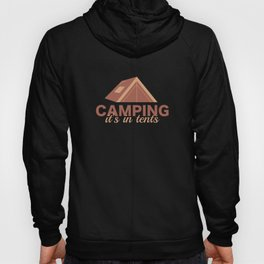 Camping It's In Tents Hoody