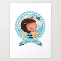 Today, is a good day. Art Print