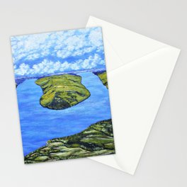 Bluff Point at Keuka Lake Stationery Cards