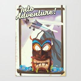 Into Adventure! Canvas Print