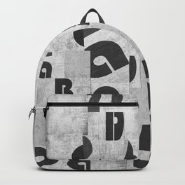 Abstract pattern 51 Backpack