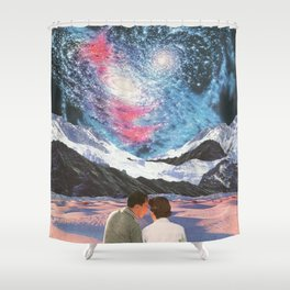 An Astral Affair Shower Curtain