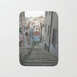 Lisbon stairs Bath Mat