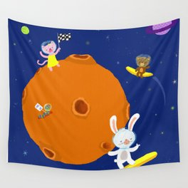Space Fun Wall Tapestry
