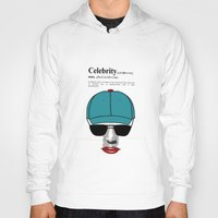 celebrity Hoodies featuring Celebrity by jt7art&design