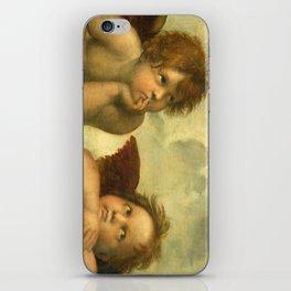Raphael - Sistine Madonna Angels iPhone Skin
