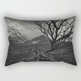 The web of winter Rectangular Pillow