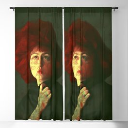 The red hat Blackout Curtain