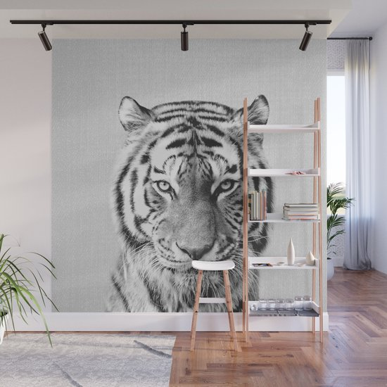 Tiger - Black & White by galdesign